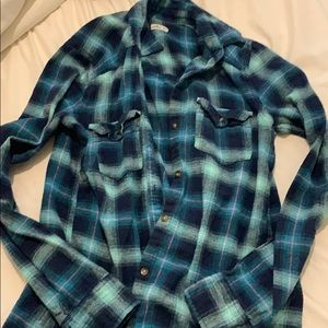 Hollister Button Up Flannel
